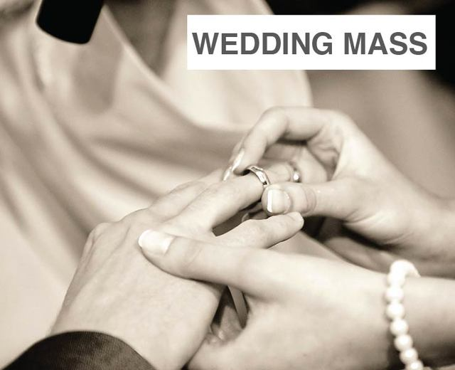 Wedding Mass | Wedding Mass| MusicSpoke