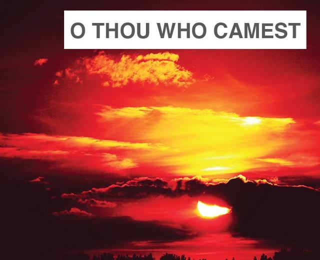 O Thou Who Camest From Above | O Thou Who Camest From Above| MusicSpoke