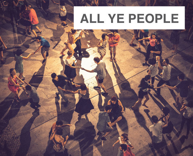 All Ye People | All Ye People| MusicSpoke