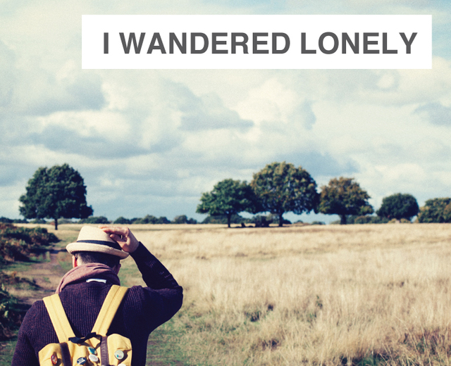 I Wandered Lonely as a Cloud | I Wandered Lonely as a Cloud| MusicSpoke