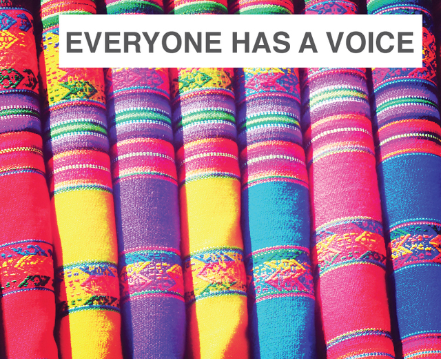 Everyone Has a Voice | Everyone Has a Voice| MusicSpoke