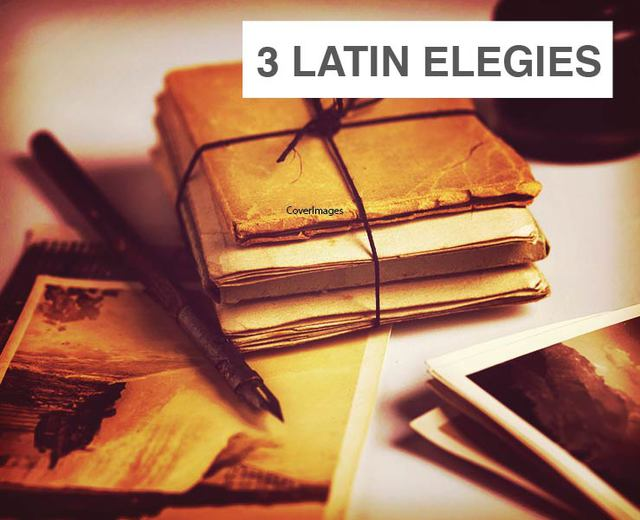 Three Latin Elegies to Lesbia | Three Latin Elegies to Lesbia| MusicSpoke